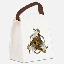 Odin's Triple Horns Canvas Lunch Bag