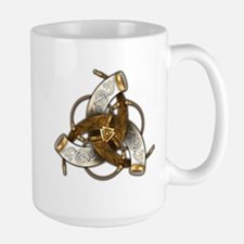 Odin's Triple Horns Large Mug