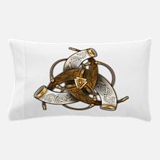 Odin's Triple Horns Pillow Case