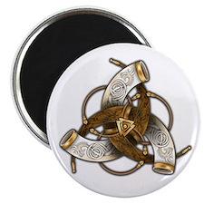 Odin's Triple Horns Magnet
