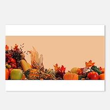 Cornucopia For Thanksgivi Postcards (Package of 8)