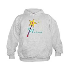 W is for Wand Hoodie