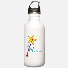 W is for Wand Water Bottle
