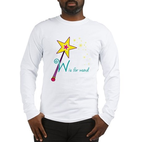 W is for Wand Long Sleeve T-Shirt