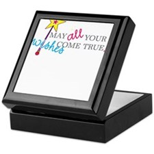 May all your wishes come true! Keepsake Box