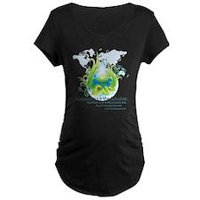 Friendly Aquaponics Earth Drop Solution T-Shirt