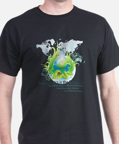 Friendly Aquaponics Earth Drop Solution T-Shirt