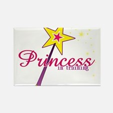 Princess in Training Rectangle Magnet