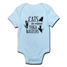 Cat Yoga Infant Bodysuit