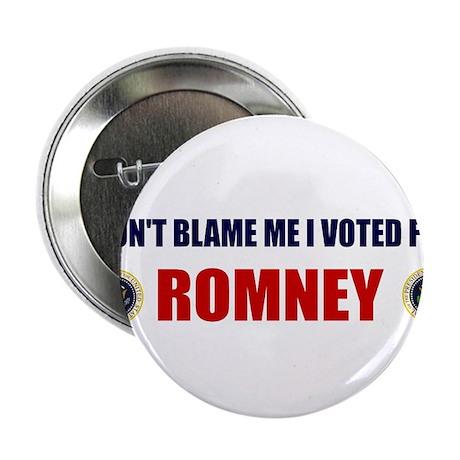 DONT BLAME ME I VOTED FOR ROMNEY BUMPER STICKER 2.
