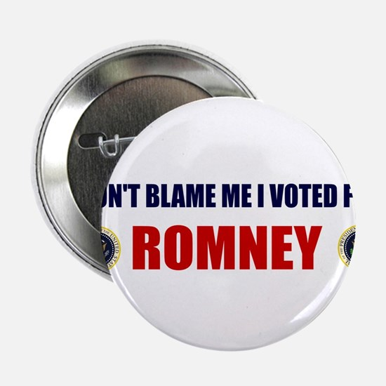 DONT BLAME ME I VOTED FOR ROMNEY BUMPER STICKER 2.