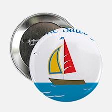 "Gone Sailing 2.25"" Button"