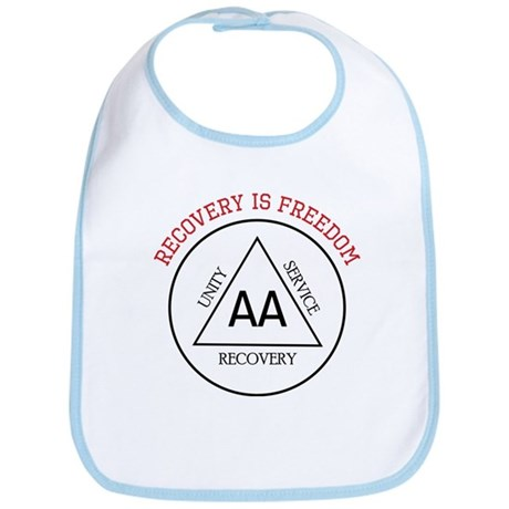Recovery Is Freedom Bib