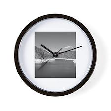 Black & White Photo Wall Clock
