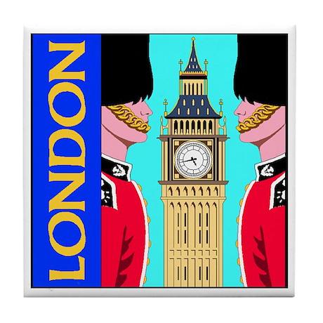 London Tile Coaster