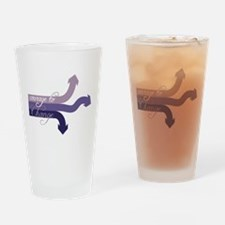 Courage To Change Drinking Glass