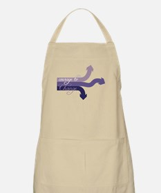 Courage To Change Apron
