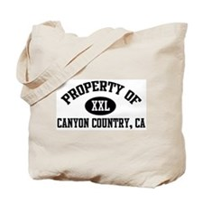 Property of CANYON COUNTRY Tote Bag