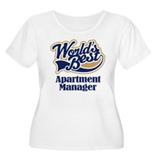 Apartment Manager (Worlds Best) T-Shirt