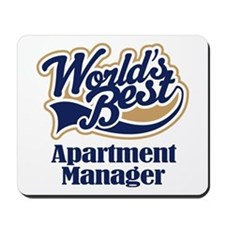 Apartment Manager (Worlds Best) Mousepad