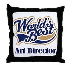 Art Director (Worlds Best) Throw Pillow
