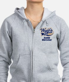 Audit Director (Worlds Best) Zip Hoodie
