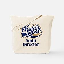 Audit Director (Worlds Best) Tote Bag