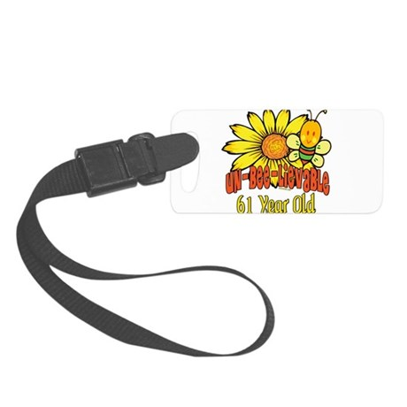 UNBELIEVABLEat61.png Small Luggage Tag