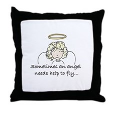 Special Angel Throw Pillow