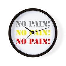 No Pain! CLOCK