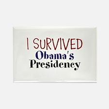 I Survived Obamas Presidency Rectangle Magnet
