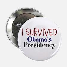 "I Survived Obamas Presidency 2.25"" Button"