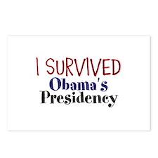 I Survived Obamas Presidency Postcards (Package of