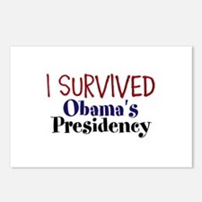 I Survived Obamas Presidency Postcards (Package of