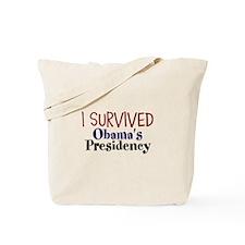 I Survived Obamas Presidency Tote Bag