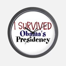 I Survived Obamas Presidency Wall Clock