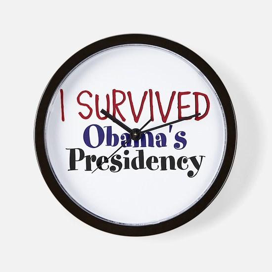 I Survived Obamas Presidency Wall Clock