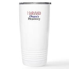 I Survived Obamas Presidency Travel Mug