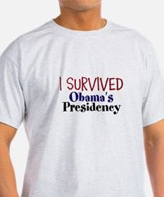 I Survived Obamas Presidency T-Shirt