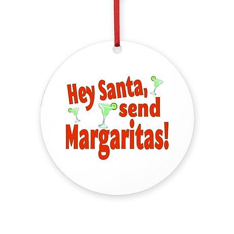 Send Margaritas Ornament (Round)