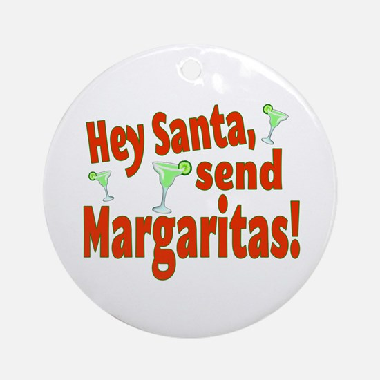 Send Margaritas Ornament (Round)