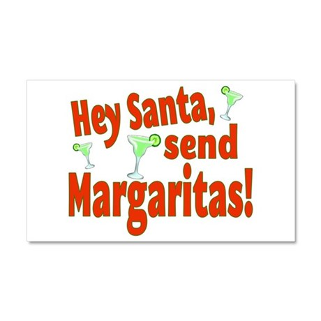 Send Margaritas Car Magnet 20 x 12