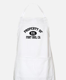Property of FORT ORD BBQ Apron
