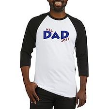 New Dad Est 2013 Baseball Jersey