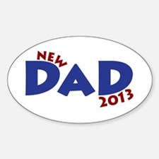 New Dad Est 2013 Decal