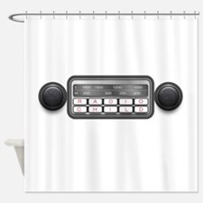 Radio Child Shower Curtain