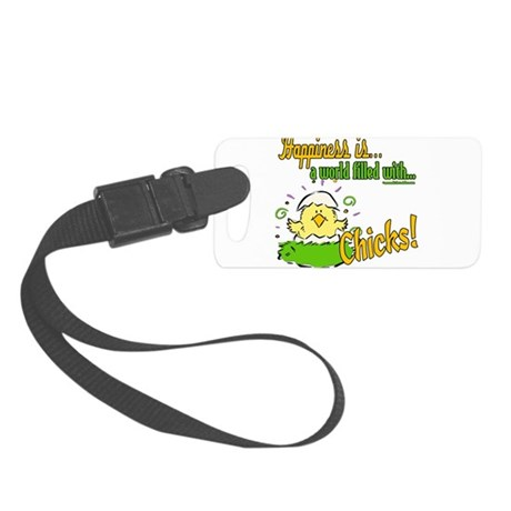 HappinessChicks copy.png Small Luggage Tag