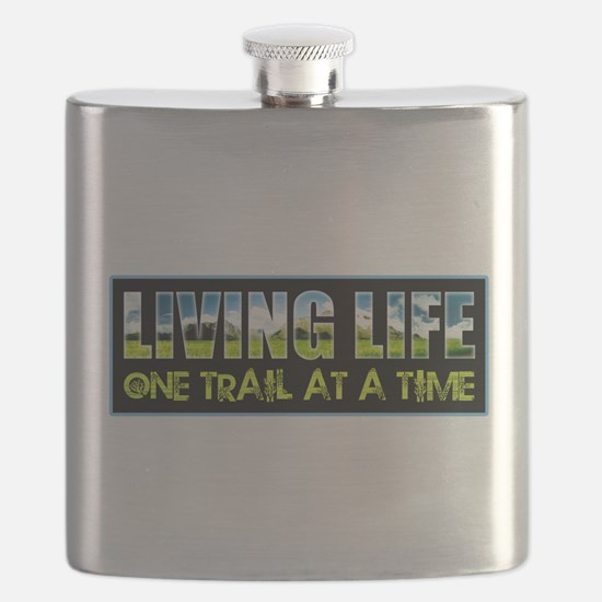 One Trail At A Time Flask