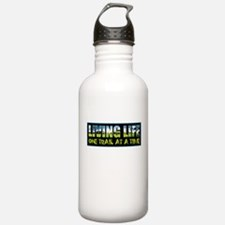 One Trail At A Time Water Bottle