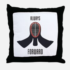 ALWAYS FORWARD Throw Pillow